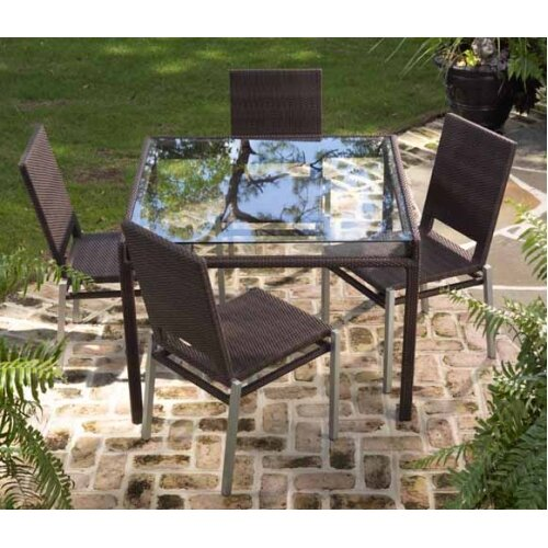 All-Weather Pacific 5 Piece Dining Set by Whitecraft