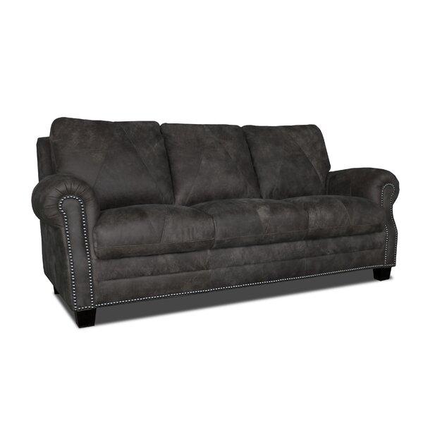 Compare Price Moree Leather Sofa