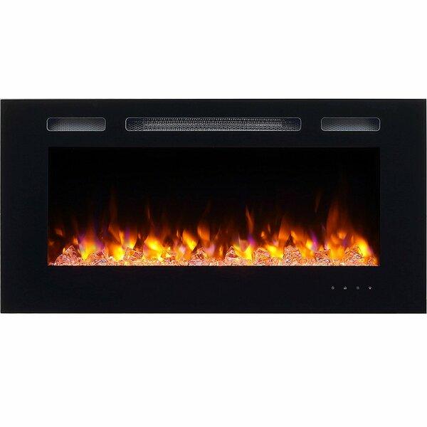 Iserman Wall Mounted Electric Fireplace by Orren Ellis