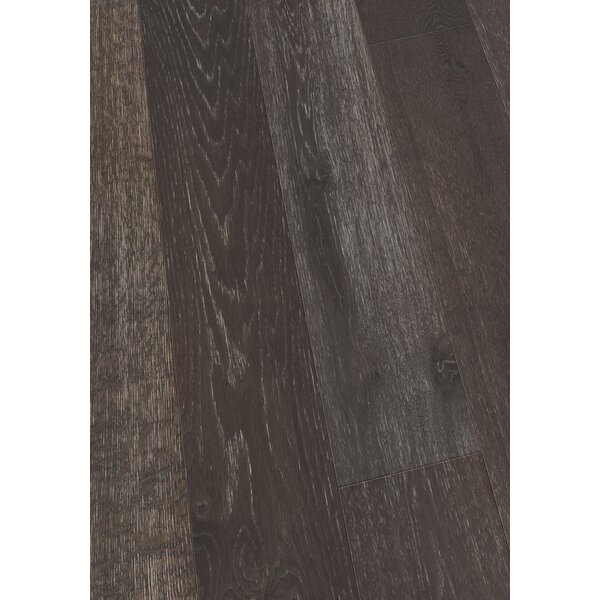 7.5 Engineered Oak Hardwood Flooring in Brushed Midnight Oak by Maritime Hardwood Floors