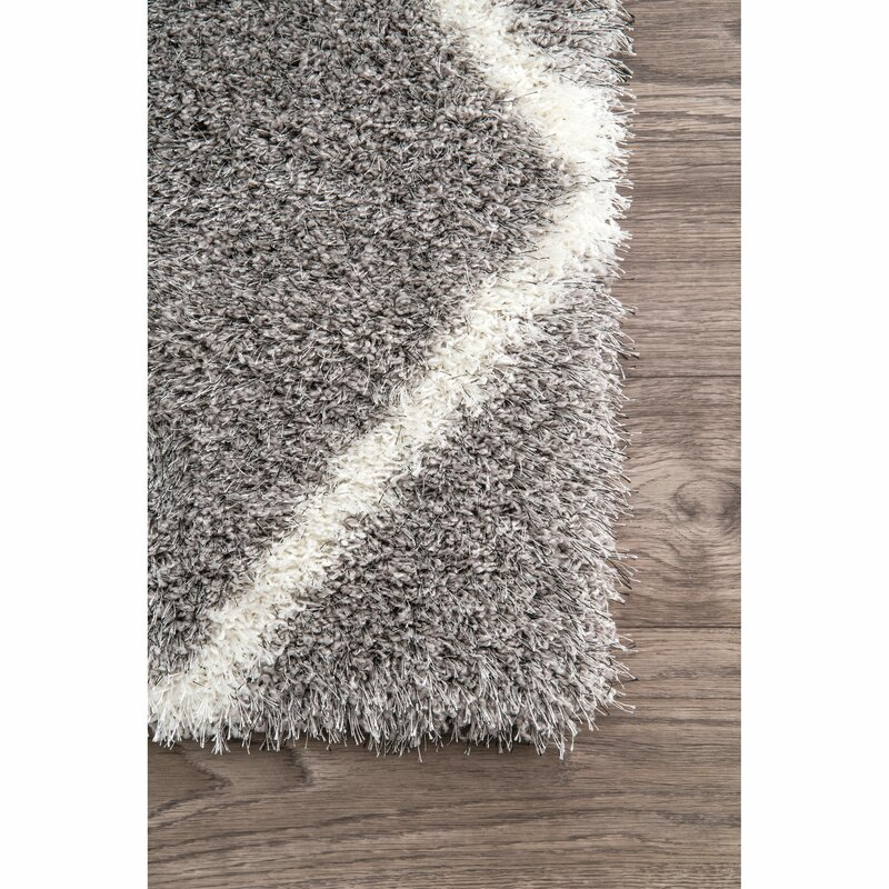 bartell trellis ash area rug reviews joss main