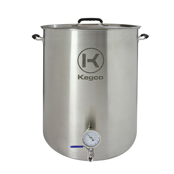 3 Piece 30 Gallon Brew Kettle Set by Kegco