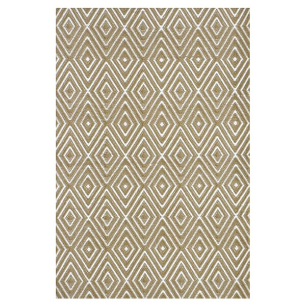 Hand Woven Beige Indoor/Outdoor Area Rug by Dash and Albert Rugs