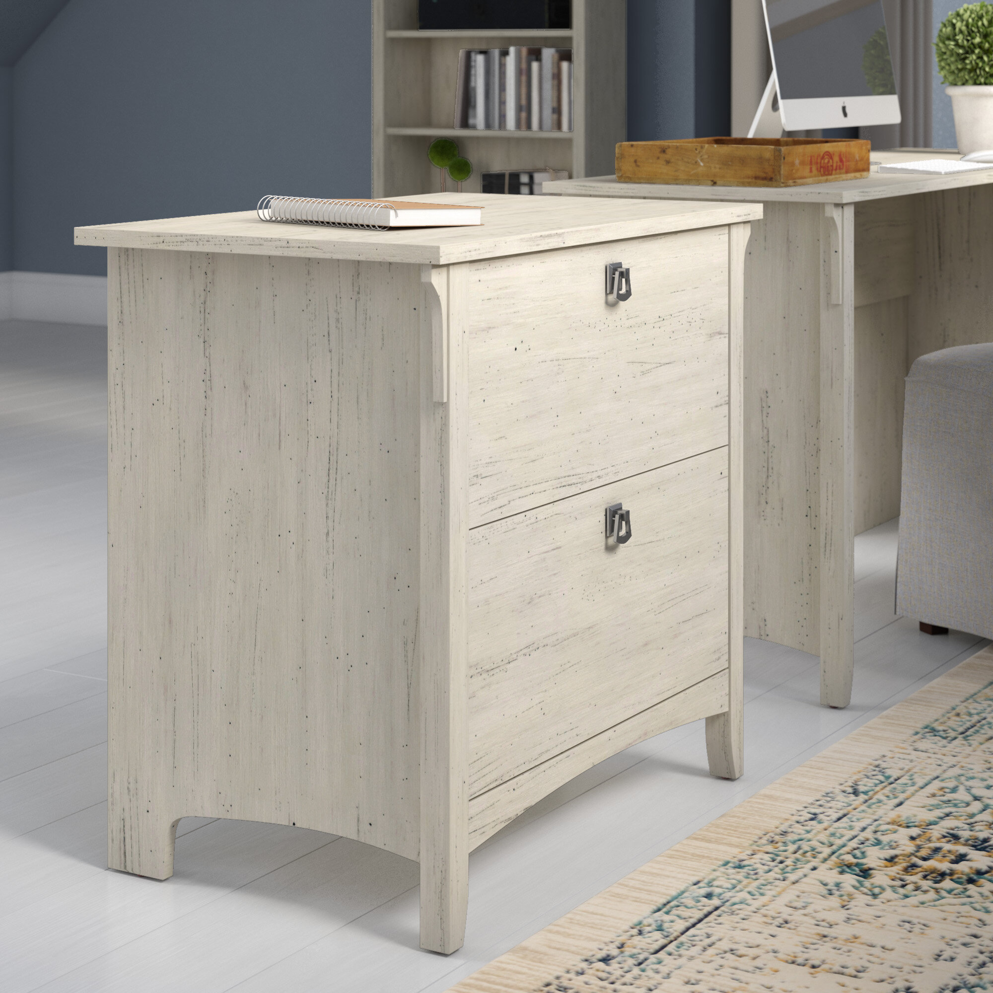 Three Posts Salina 2-Drawer Lateral File Cabinet
