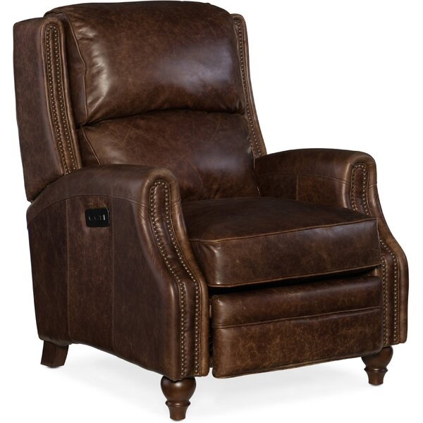Brio Leather Power Recliner by Hooker Furniture