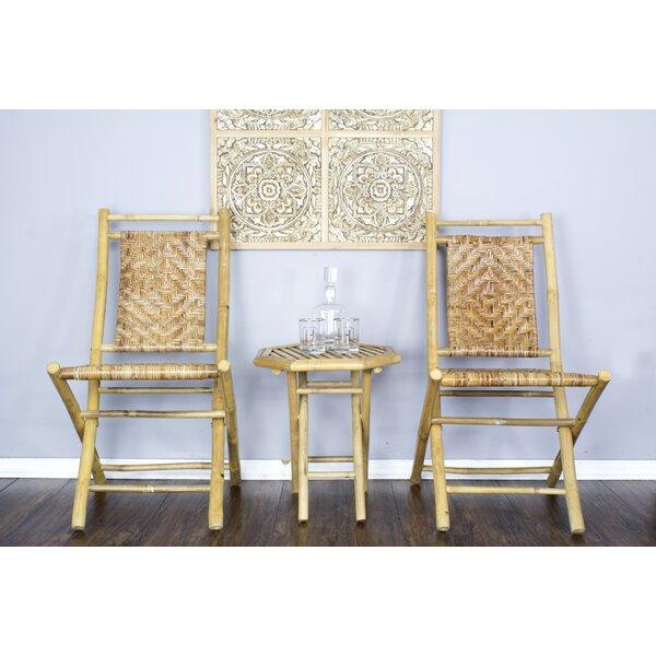 Akahi Wood Folding Chair (Set of 4) by Heather Ann Creations