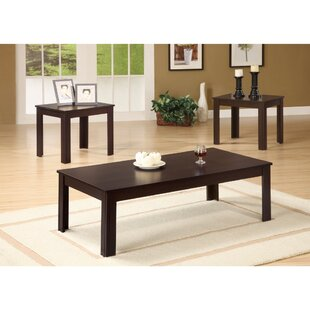 Jenkinson Fine Looking 3 Piece Coffee Table Set Winston Porter