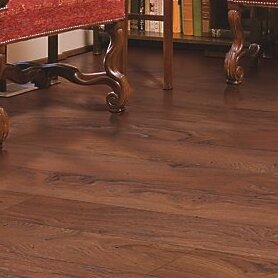 Hanbridge 5.25 x 47.25 x 11.93mm Oak Laminate Flooring in Brown by Mohawk Flooring