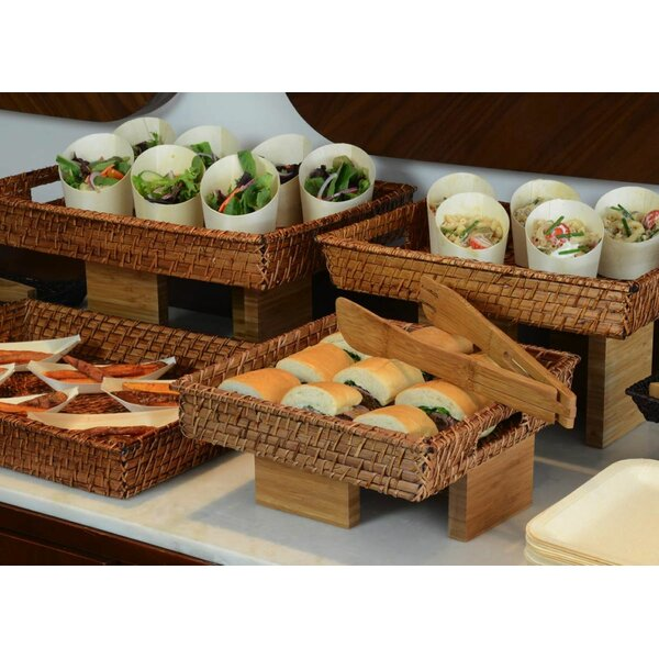 Rattan Serving Tray (Set of 2) by Front Of The House