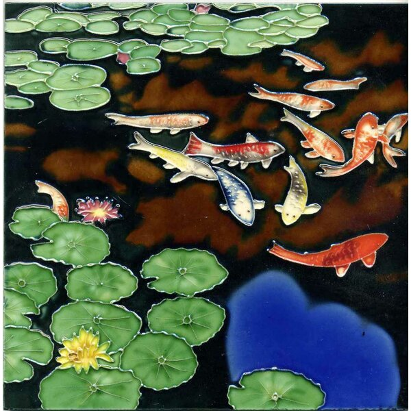 Pond Tile Wall Decor by Continental Art Center