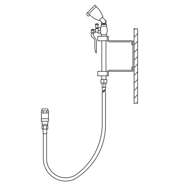 Eyesaver Faucet Eyewash / Drench Hose Attachment for Utility Sinks by Speakman
