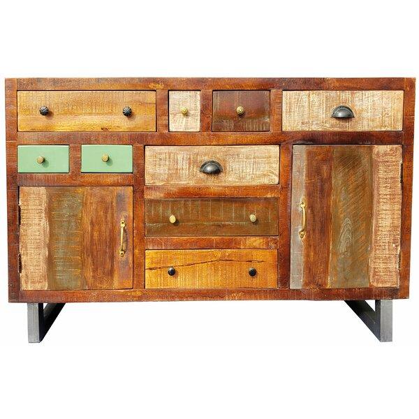 Virdi Mango Wood Sideboard by World Menagerie World Menagerie