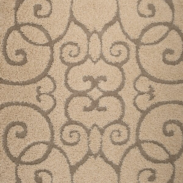 Bearcreek Cream Area Rug by Winston Porter