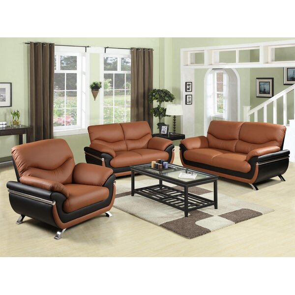3 Piece Living Room Set by Star Home Living Corp