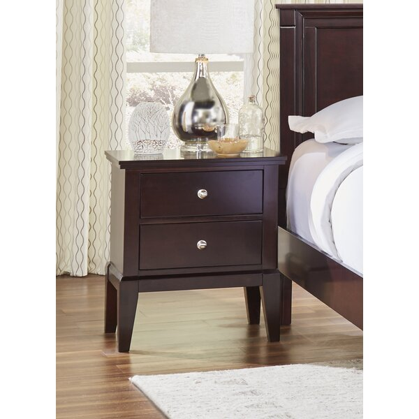Odachowski 2 Drawer Nightstand by Red Barrel Studio