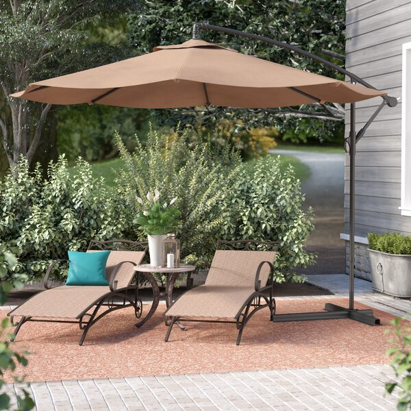 Bormann 10 Cantilever Umbrella By Andover Mills.