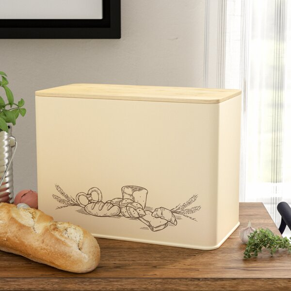 Collen Large Vertical Bread Box by Laurel Foundry Modern Farmhouse