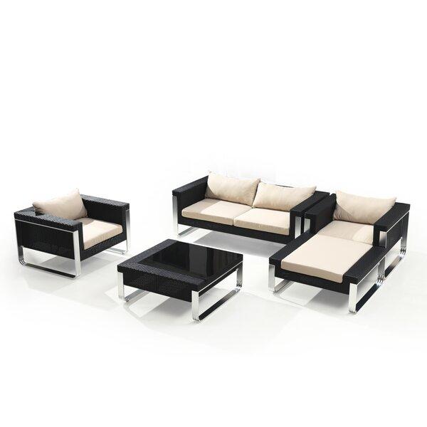 Honn 5 Piece Sofa Set with Cushions by Orren Ellis