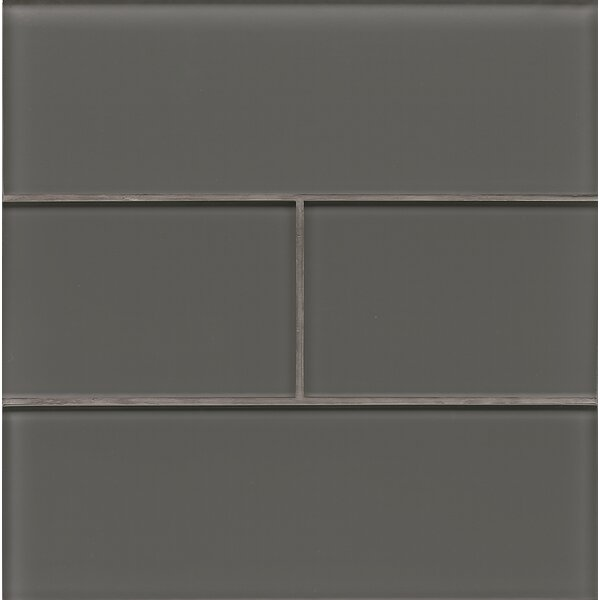 Harbor Glass Gloss Field Tile in Anchor by Grayson Martin