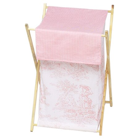French Toile Laundry Hamper by Sweet Jojo Designs