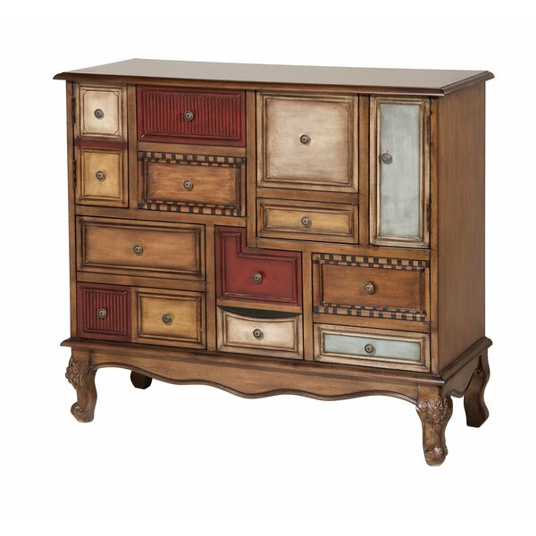 Dieppe 14-drawer Apothecary Accent Chest