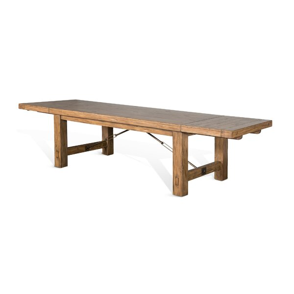Joliette Solid Wood Dining Table By Loon Peak