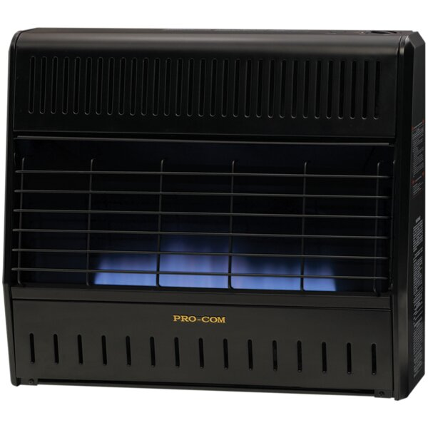 Heating Dual Fuel Ventless Flame Garage Natural Gas And Propane Infrared Utility Heater With Automatic Thermostat By ProCom