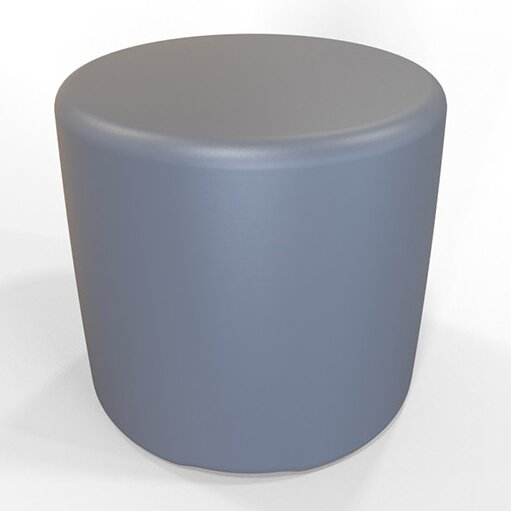 "Circle 13.5"" H Firm Ottoman by Tenjam"