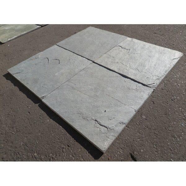 Kota Grey Natural Cleft Face & Back 12x12 Limestone Field Tile