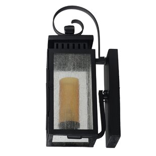 Purchase Sharpsville 1-Light Patina Bronze Outdoor Wall Lantern By Darby Home Co
