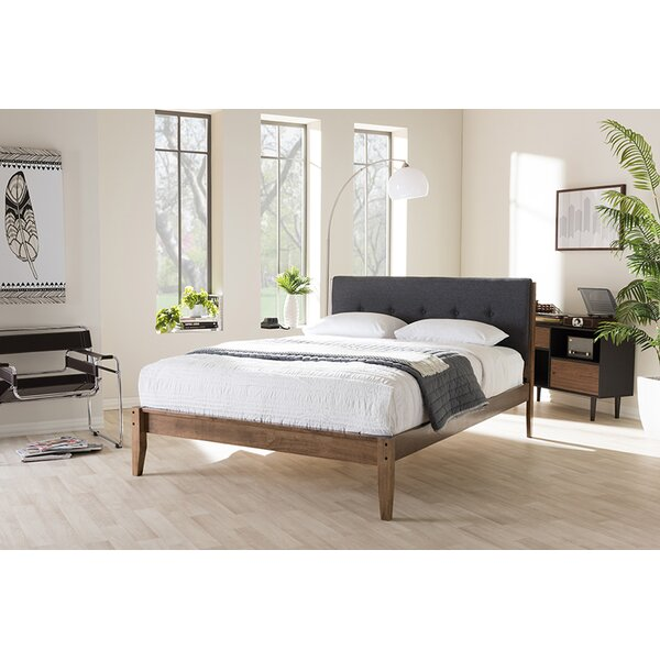 Benfield Upholstered Platform Bed by George Oliver