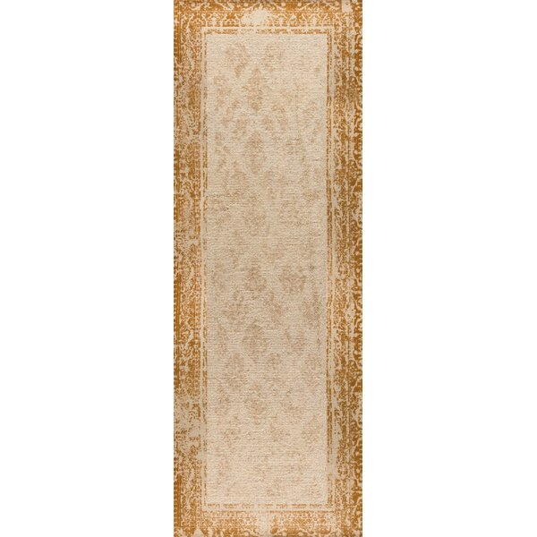 Corona Hand-Woven Rust Area Rug by M.A. Trading
