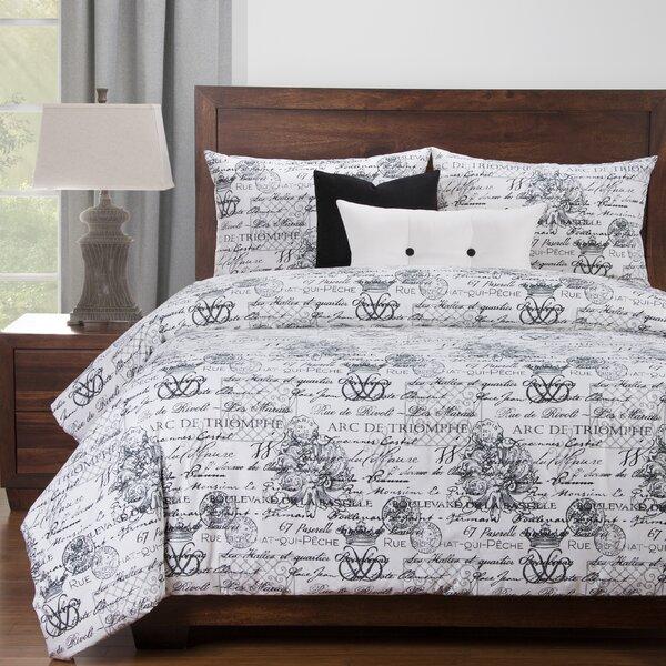 Whitlow Luxury Duvet Cover and Comforter Insert Set