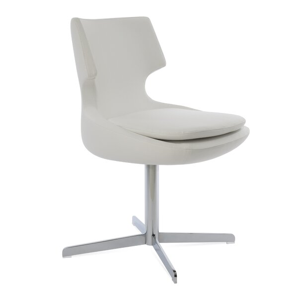 Patara Genuine Leather Upholstered Dining Chair by sohoConcept