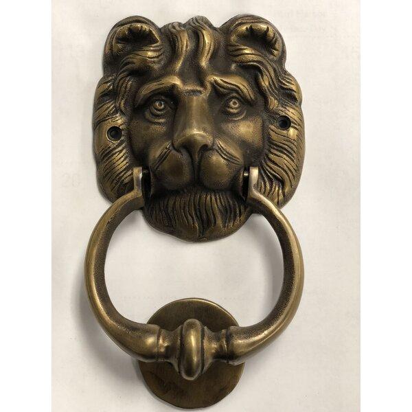 Brasso Lion Head Door Knocker by D-Art Collection