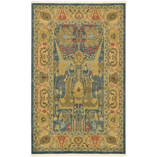 Lerma Brown Area Rug by World Menagerie