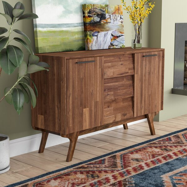 Tion Wood Buffet Table by Union Rustic