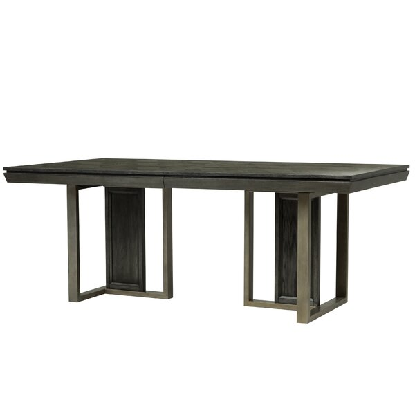 Diehl Solid Wood Dining Table by 17 Stories