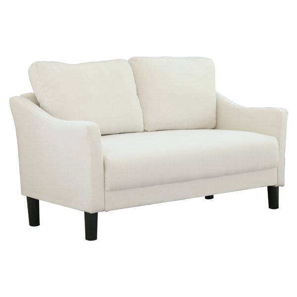 Buckwalter 55.9 Inches Square Arms Loveseat By Charlton Home
