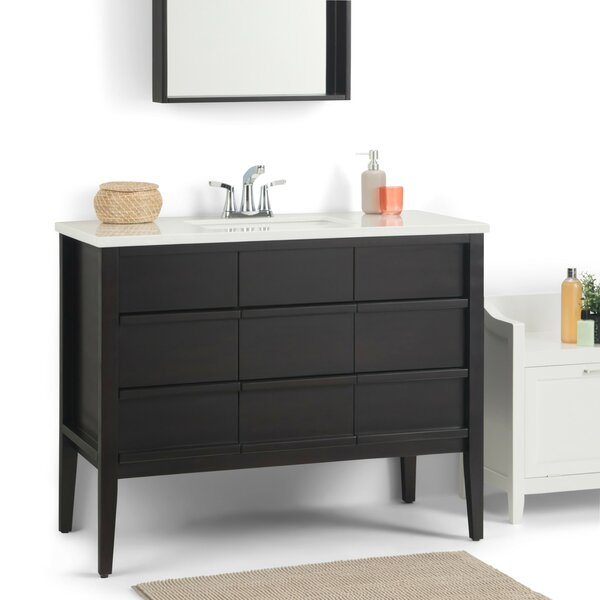 Russo 43 Single Bathroom Vanity by Simpli Home