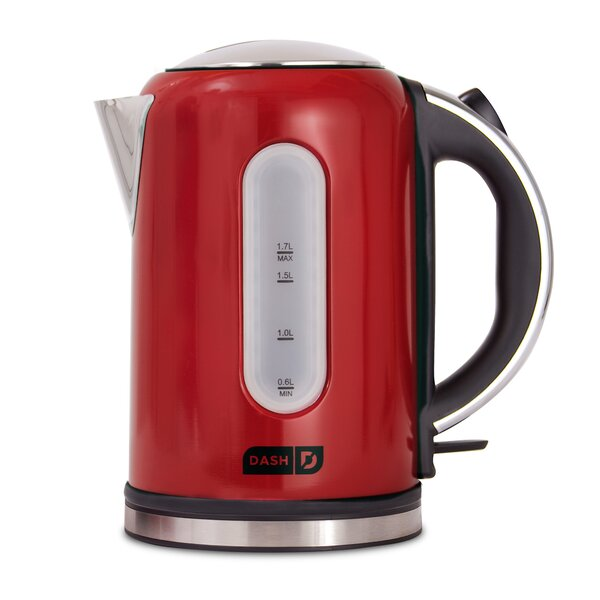Rapid 1.75 Qt. Stainless Steel Electric Tea Kettle by DASH