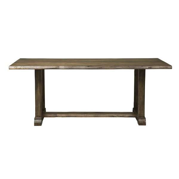 Ogan Solid Wood Dining Table by Loon Peak