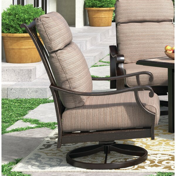 Hamer Patio Chair with Cushions (Set of 2) by Alcott Hill