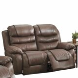 Royster Breathable Reclining Loveseat by Charlton Home®