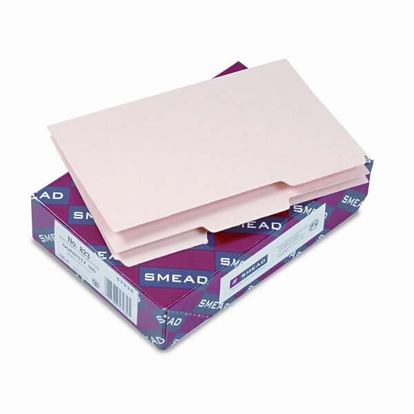 Blank Self-Tab Card Guides, 1/3 Tab, 100/Box by Smead Manufacturing Company