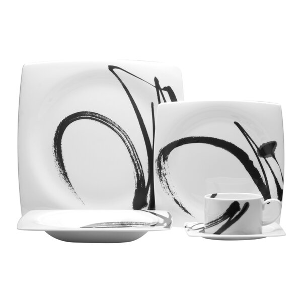 Paint It 5 Piece Place Setting, Service for 1 by Red Vanilla