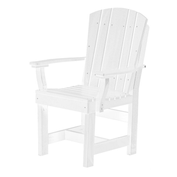 Patricia Patio Dining Chair by Rosecliff Heights