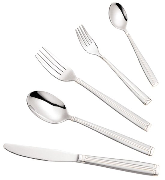 72 Piece Bella Flatware Set by Lorren Home Trends