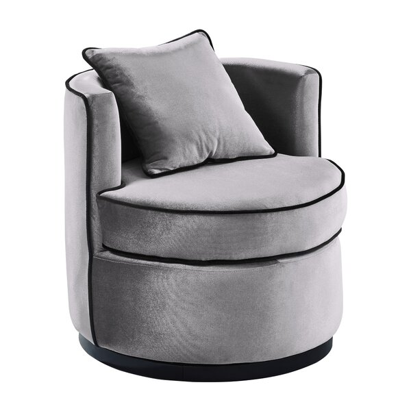 Hinerman Swivel Armchair by Mercer41