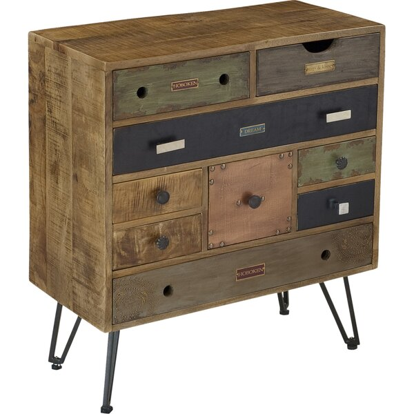 Monico 9 Drawer Chest by World Menagerie World Menagerie